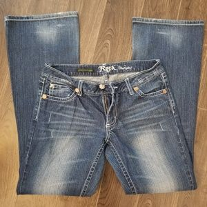 Ultra Low Rise Rock 47 Wranglers size 7×34